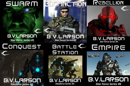 Audiobook Series Review Star Force By B V Larson The Guilded
